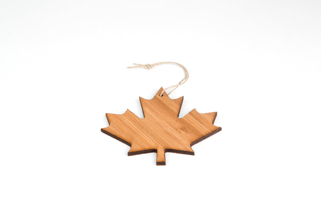 Maple Leaf Tree Ornament