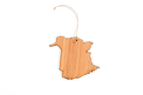 New Brunswick Tree Ornament