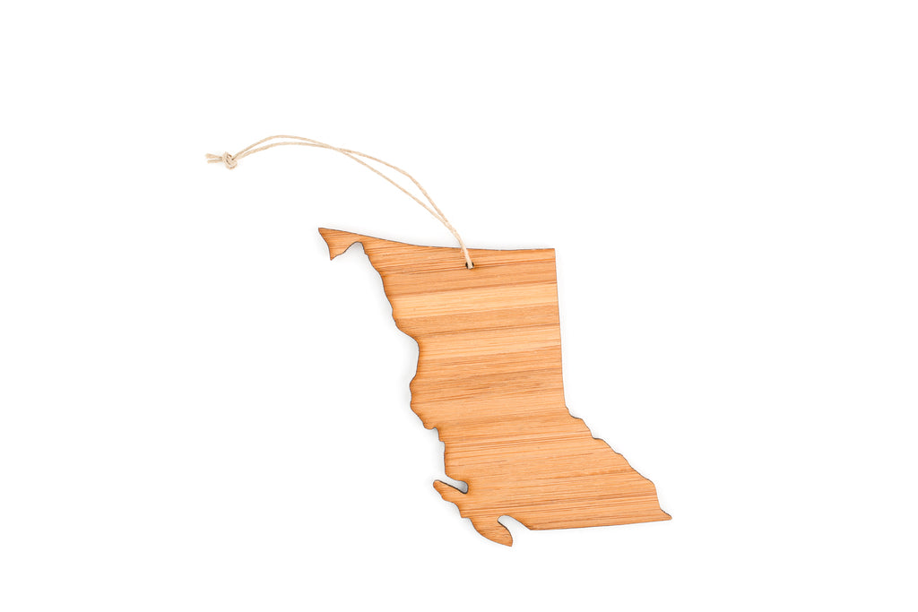 British Columbia Tree Ornament