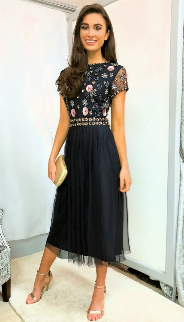 a558812a0f Navy Embellished Tulle Dresses   dresses online   party dresses, occasion  dresses – Dressesonline.ie   Ireland   Ci Ci Boutique