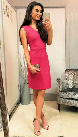 5441 Pink York Pencil Dress