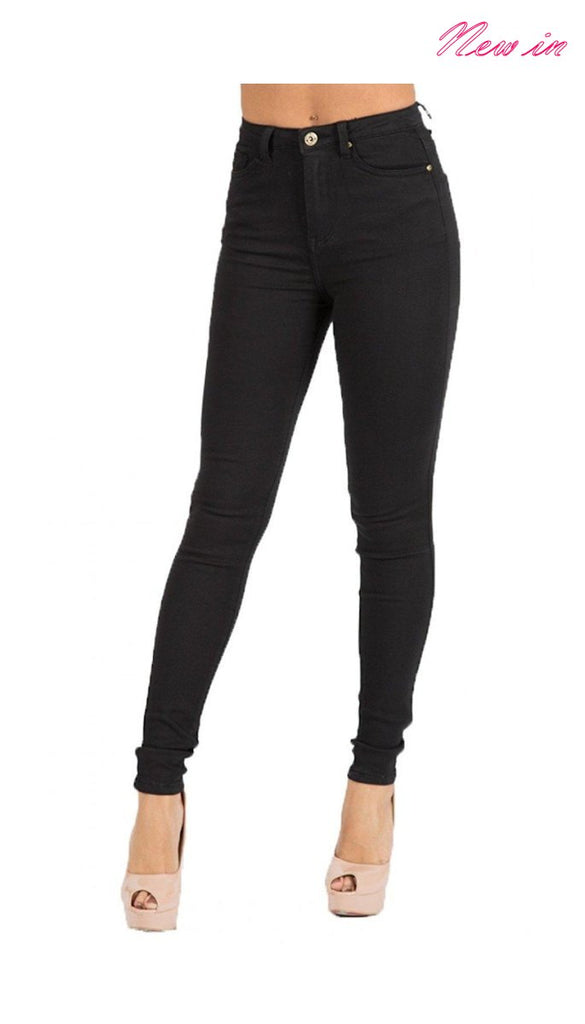 6320 - (SIZES 6,10,16) - Nivara Black Skinny Jeans