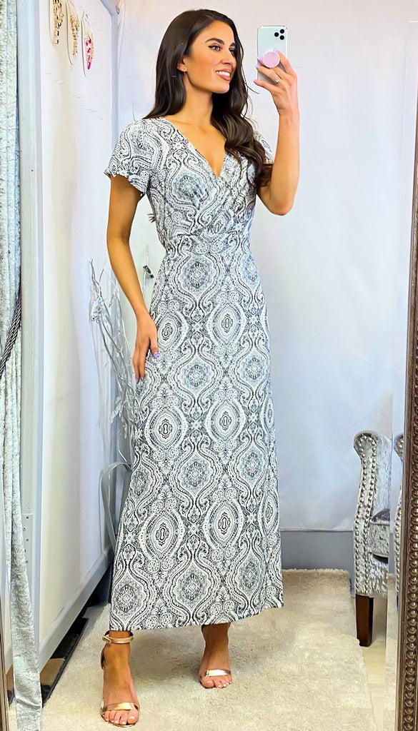 6336 Yasmin Mono Maxi Dress