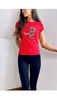6681 Red C5 T-Shirt