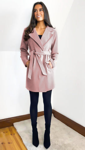 6687 Heather Frill Sleeve Dress