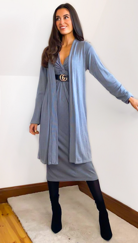 6775 Royal Blue Faith Cardigan