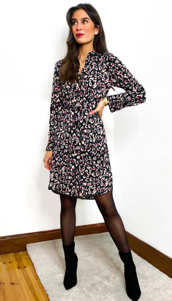 7069b Fairview Multi Print Tunic Shirt