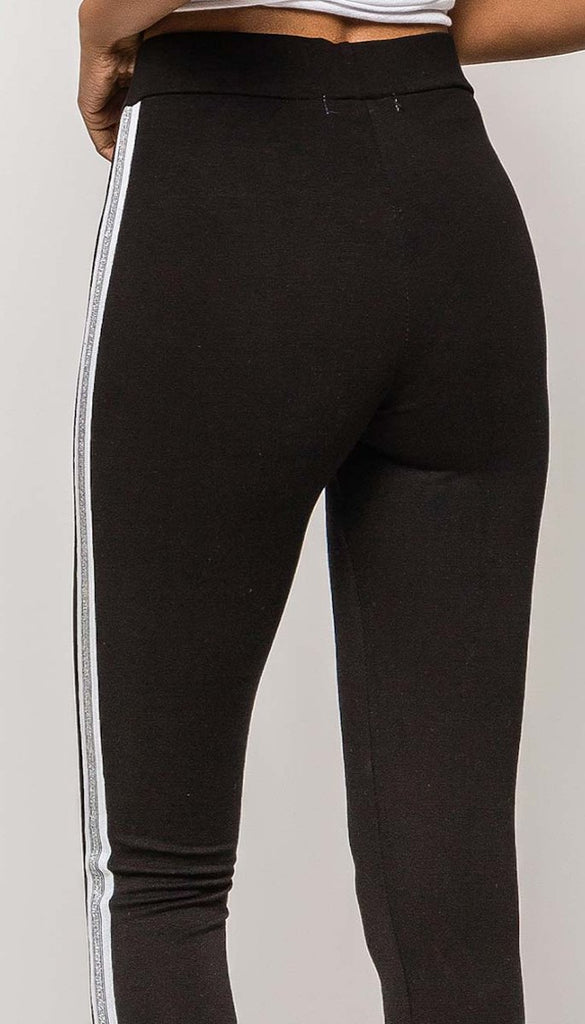 7242 Beca Side Stripe Leggings