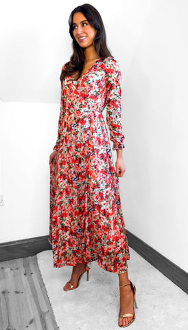 7516 Gayle Multi Maxi Dress