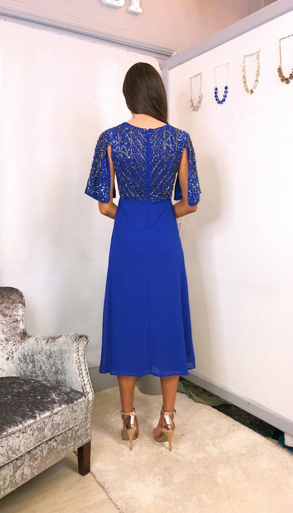 5-5758 - (SIZE 12 ONLY) - Peppa Royal Embellished Dress