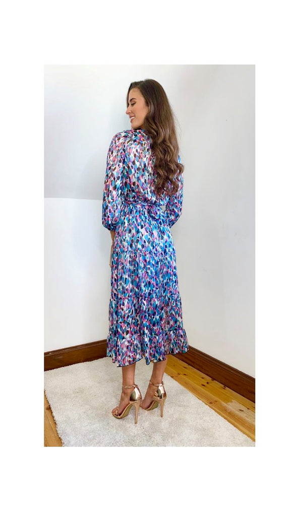 6599(b) Ruth Multi Boho Dress