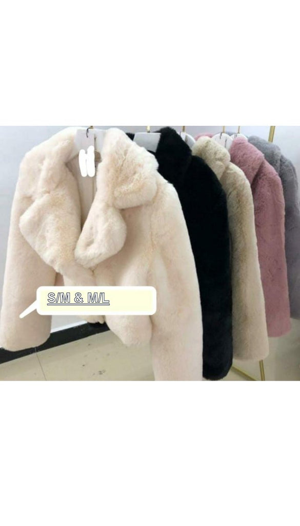 6746 Fur Jackets (Various Colours)