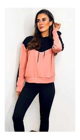 7263 - (SIZES 10,16 ONLY) - Coral Down Hooded Jacket