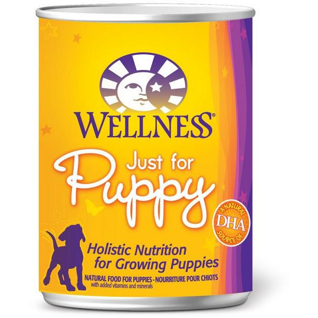 Wellness Just For Puppy Formula Dog Canned Food 12.5oz