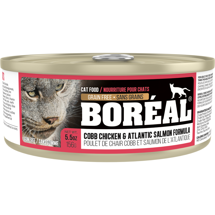 Boreal Cobb Chicken And Atlantic Salmon 156g