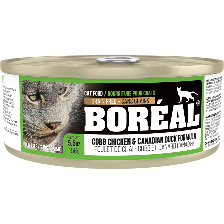 Boreal Cobb Chicken  And Canadian Duck 156g