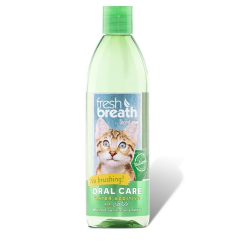 TropiClean Fresh Breath Oral Care Water Additive for Cats 236ml