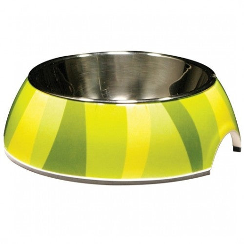 Catit Style 2-In-1 Cat Dish Jungle Stripes Bowl For Dogs & Cats