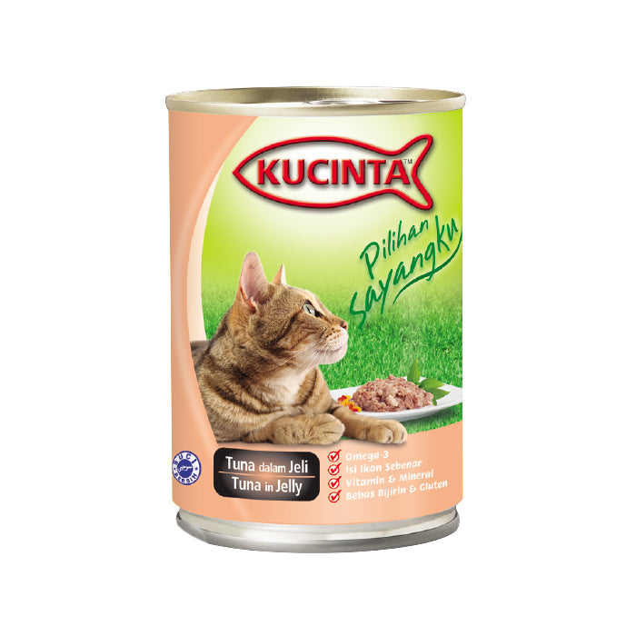 Kucinta Tuna In Jelly 400g (24 Cans)