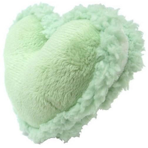 Petz Route Heart Shape Green Dog Toys