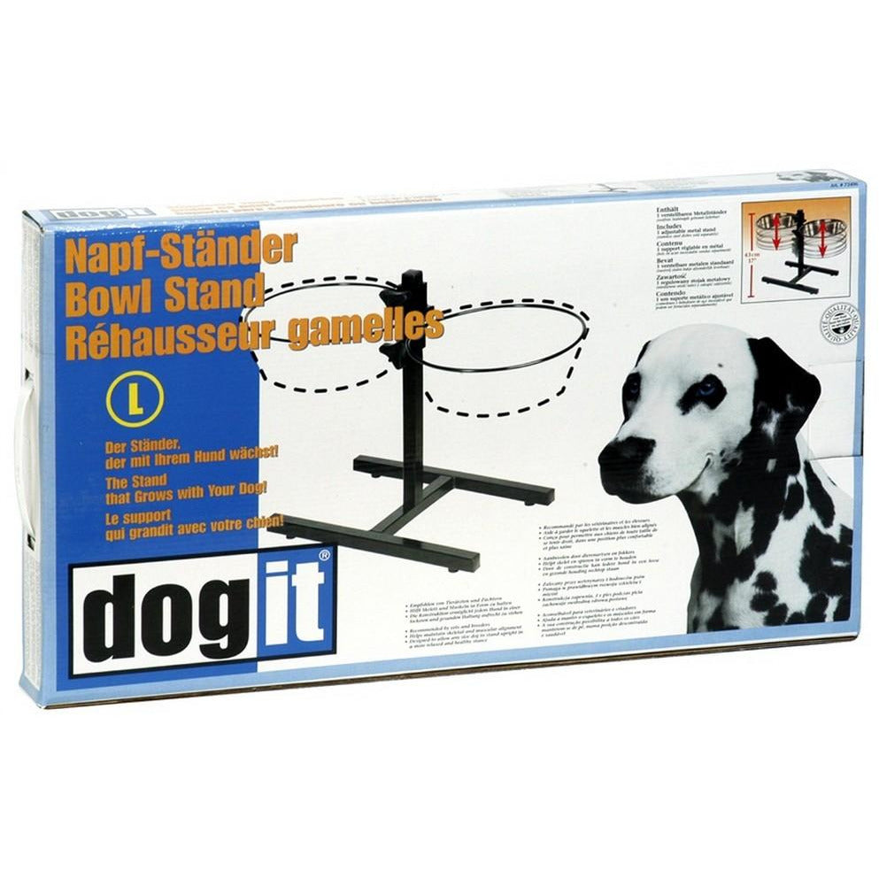 Dogit Adjustable Bowl Stand Large 2L