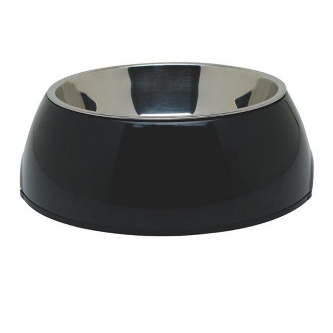 Dogit Dish 2-In-1 Medium Black
