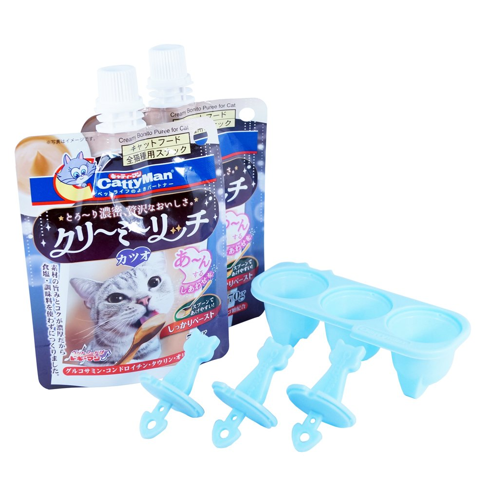 Cattyman Ice Pop With Bonito Flavor (3 Packs)