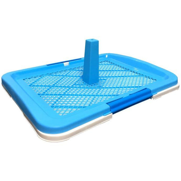 Armonto Pee Tray With Net Blue