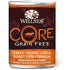 Wellness Core Grain Free Pate Turkey, Chicken Liver & Turkey Liver Dog Canned Food 12.5oz