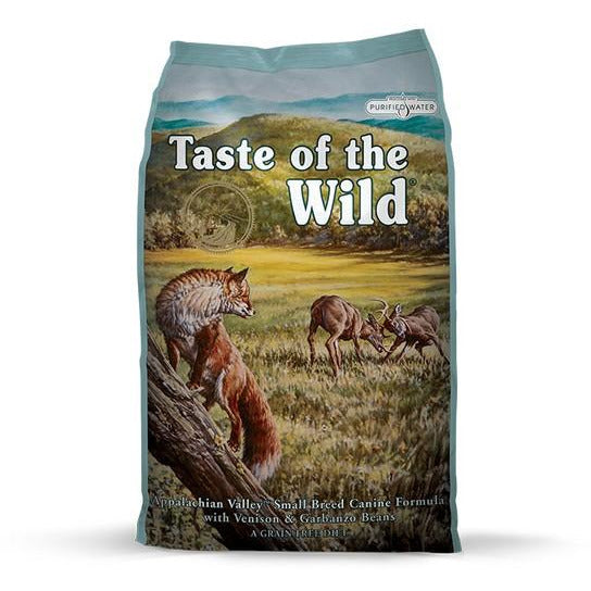 Taste Of The Wild Dog Appalachian Valley (Small Breed) With Venison & Garbanzo Beans Dog Dry Food 2kg