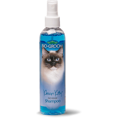 Bio-Groom Shampoo Klean Kitty No Rinse For Cats 8oz