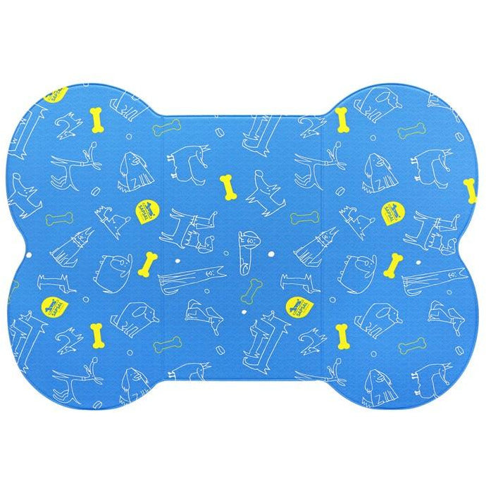 Sapsal Pet Soft Mat My Friend Series (L) Blue