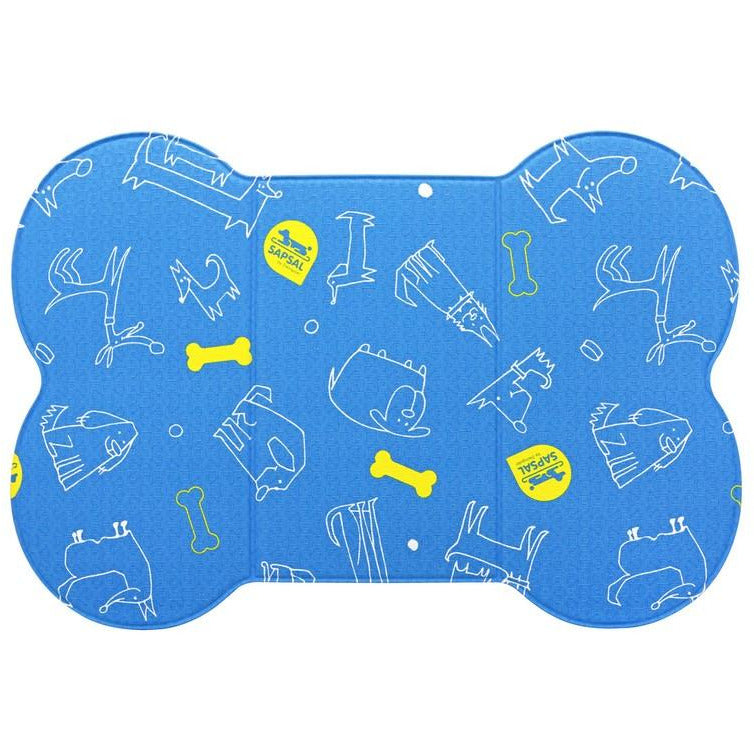 Sapsal Pet Soft Mat My Friend Series (S) Blue