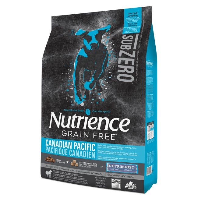 Nutrience Sub Zero Grain Free Canadian Pacific Dog Dry Food 10kg