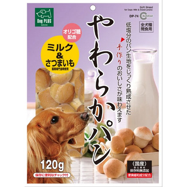 Marukan Soft Bread Milk & Potato 120g