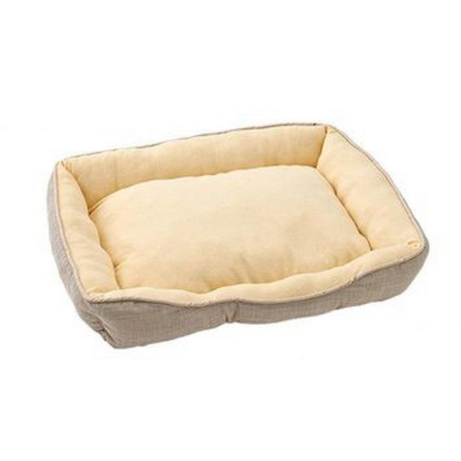 Gonta Club Tight Sleeping Bed for Dog & Cat Beige Large
