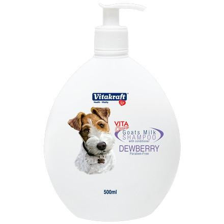 Vitakraft VitaCore Shampoo Goats Milk Dewberry 500mL