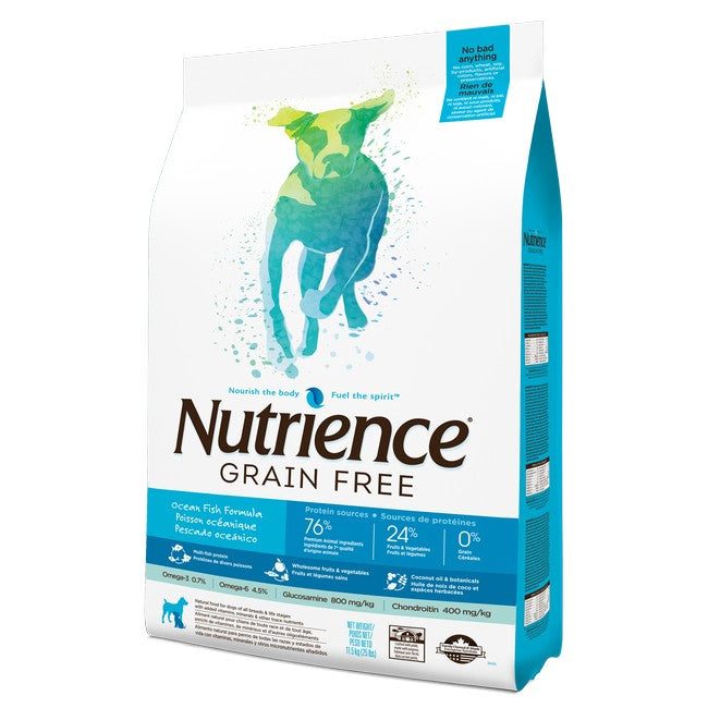 Nutrience Grain Free Ocean Fish Dog Dry Food 10kg