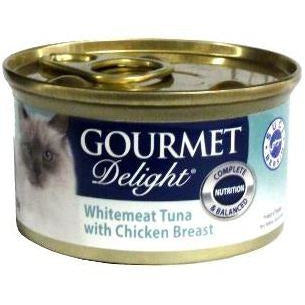 Gourmet Delight Whitemeat Tuna with Chicken Breast 85g