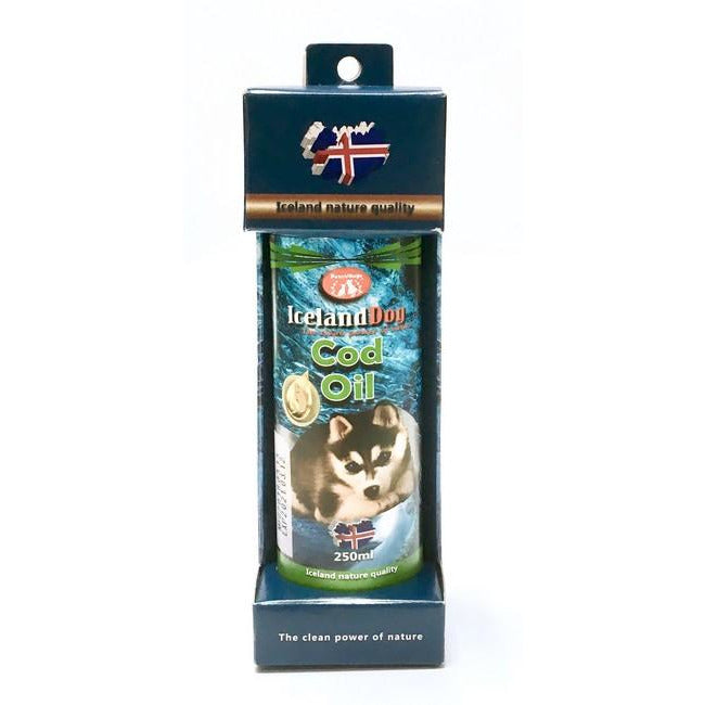 Pet Village Iceland Dog Cod Oil 250mL
