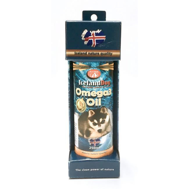 Pet Village Iceland Dog Omega 3 Oil 250mL