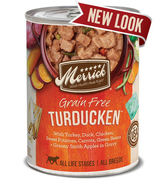 Merrick Grain Free Turducken In Gravy Dog Canned Food 360g