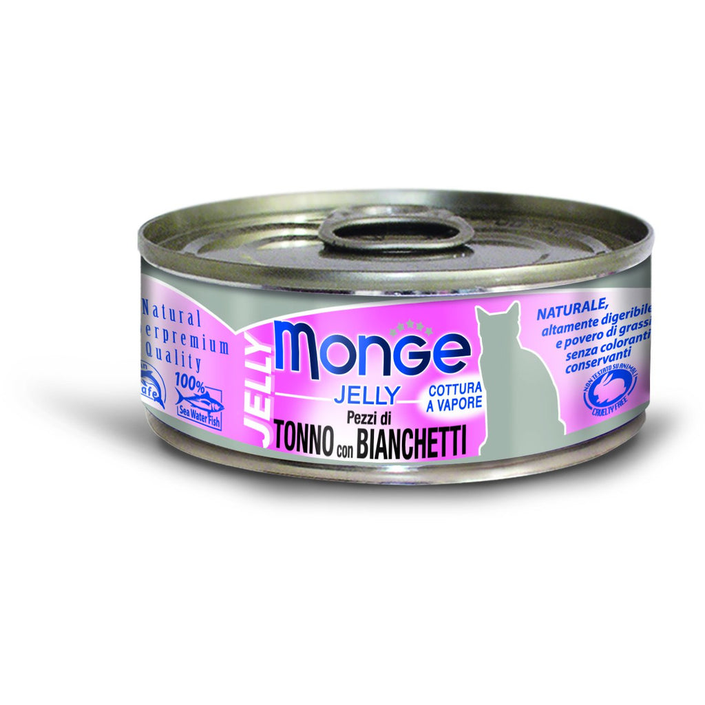 Monge Jelly Yellowfin Tuna with Whitebait 80g