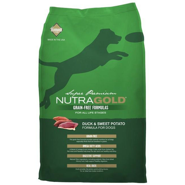 NutraGold Grain Free Duck & Sweet Potato Dog Dry Food 2.25kg