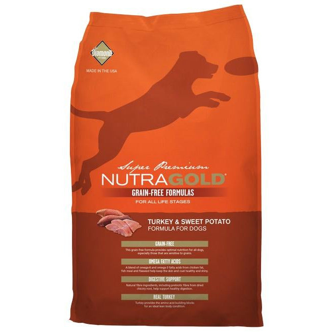 NutraGold Grain Free Turkey & Sweet Potato Dog Dry Food 2.25kg
