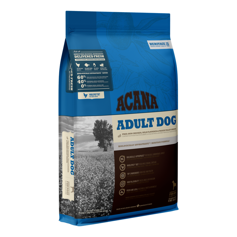 Acana Heritage Adult Dog (Chicken & Greens) Dog Dry Food 2kg