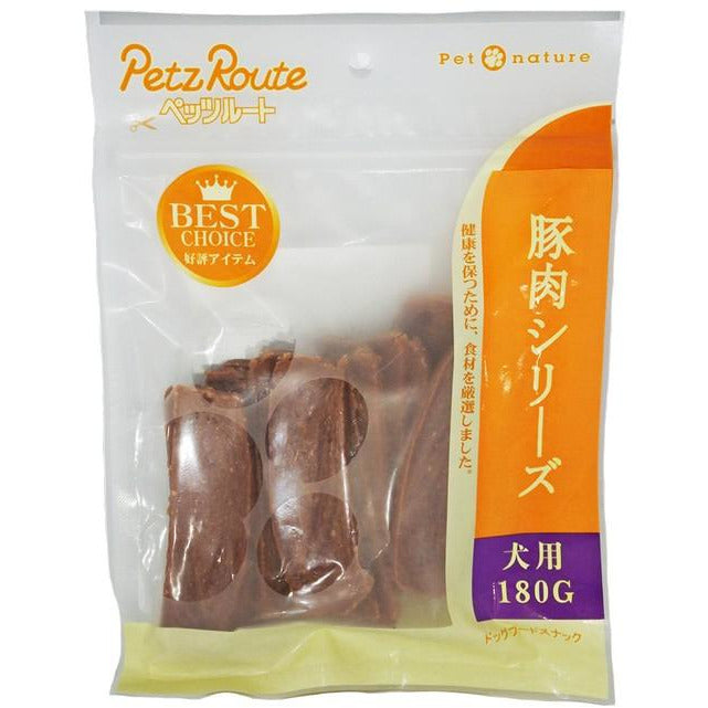 Petz Route Stick Pork Dog Treats 180g