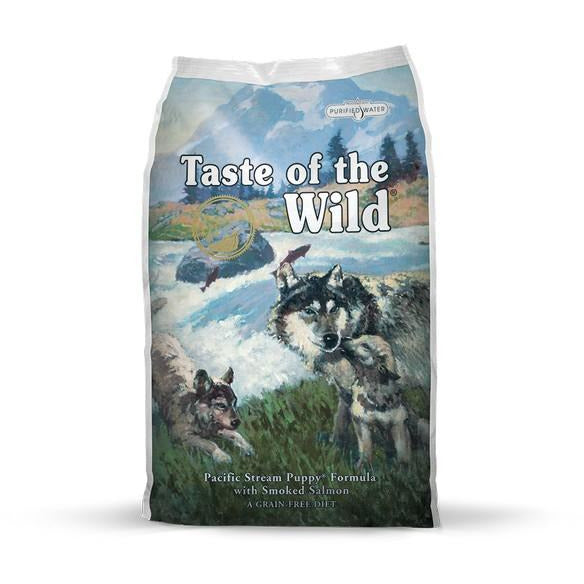 Taste Of The Wild Dog Pacific Stream (Puppy) With Smoked Salmon Dog Dry Food 13kg