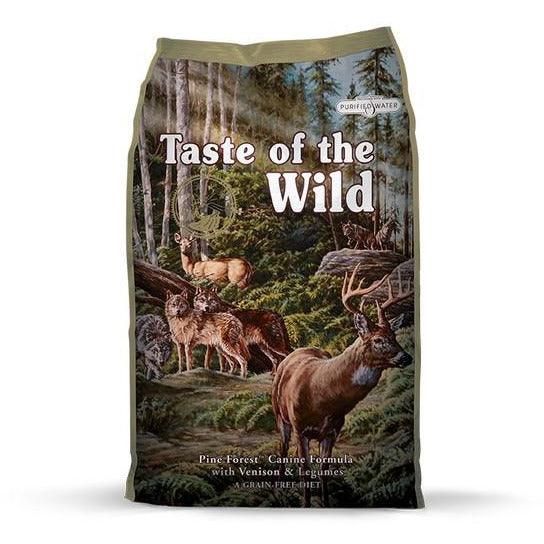 Taste Of The Wild Dog Pine Forest With Venison & Legumes Dog Dry Food 13kg
