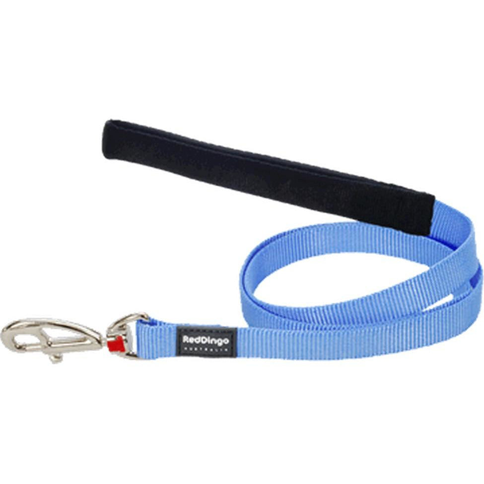Red Dingo Fixed Classic Dog Leads (L) Medium Blue